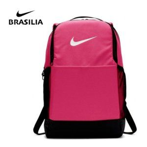 Nike Brasilia Medium Pink Backpack School Gym Bag